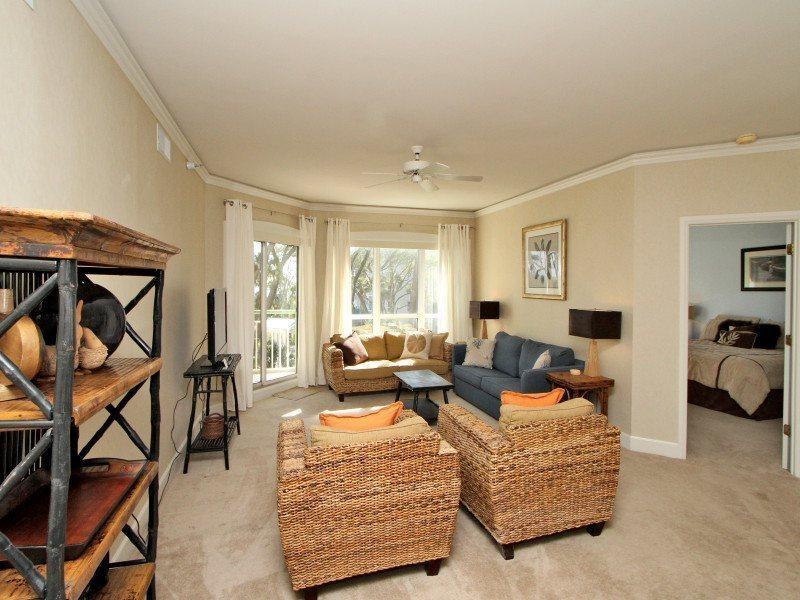 Living Room at 2213 Windsor II - 2213 Windsor II - Palmetto Dunes - rentals