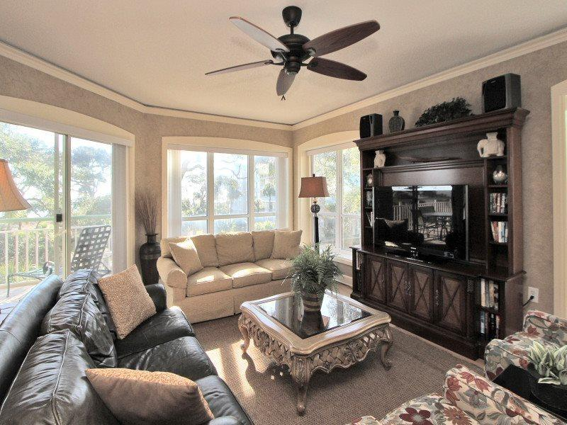 Living Area at 2318 Windsor II with Balcony Access - 2318 Windsor II - Hilton Head - rentals