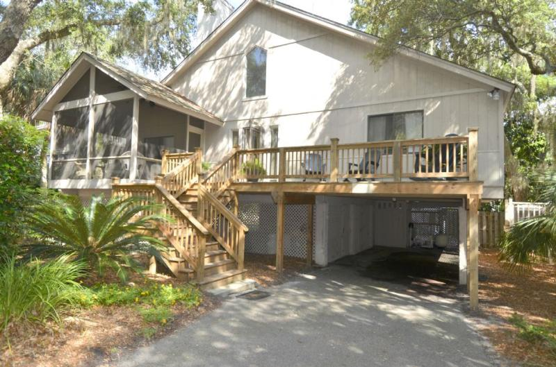 Front of home - 76 Dune Lane - Forest Beach - rentals