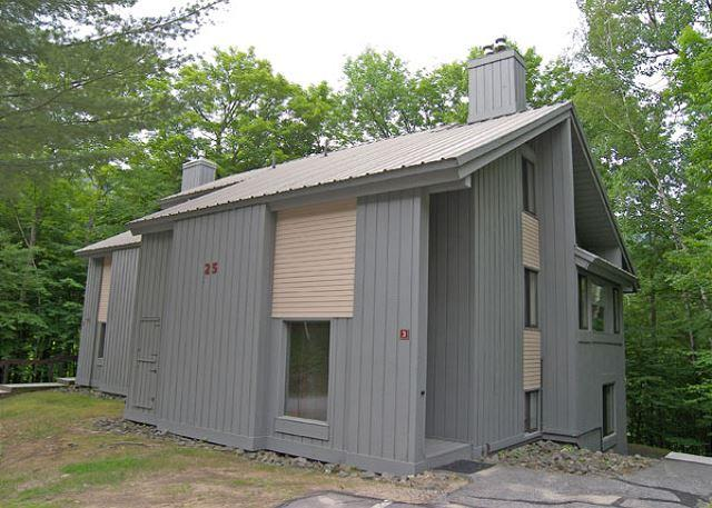 Exterior of Unit - Clearbrook 3WU - Managed by Loon Reservation Service - Lincoln - rentals