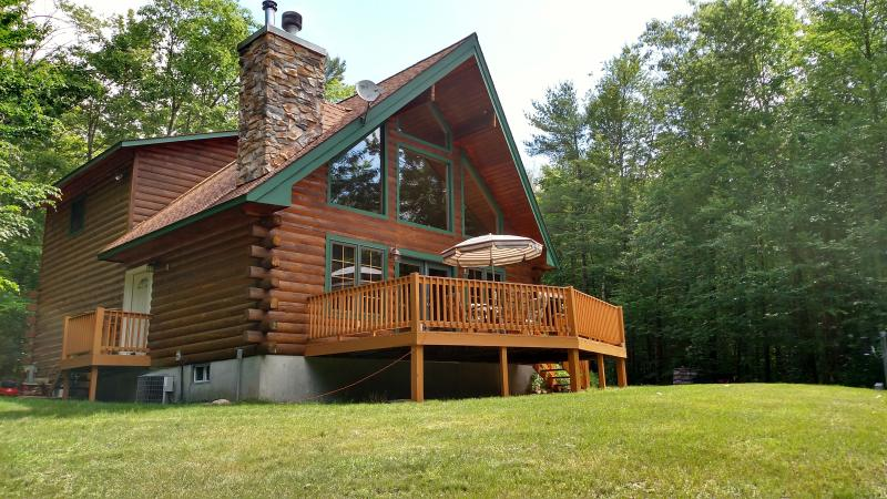 Beaver Pond Lodge - Modern Log Home on Private Lake ATV/Hiking Trails - Adirondack - rentals