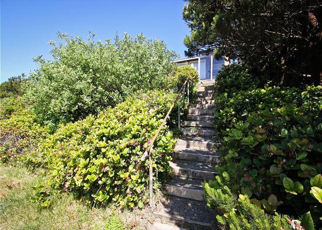 BRYNMARIE ~ Charming home, with Spectacular Ocen Views ~  in Manzanita OR - Image 1 - Manzanita - rentals