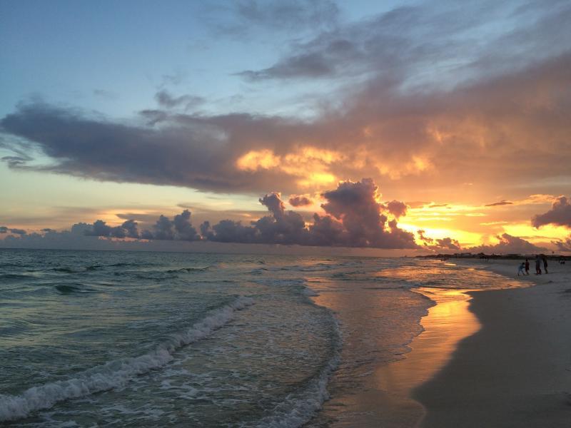 Enjoy the quiet, unhurried west-end beach - West Panama City Beach / 30A Condo On the Beach - Panama City Beach - rentals