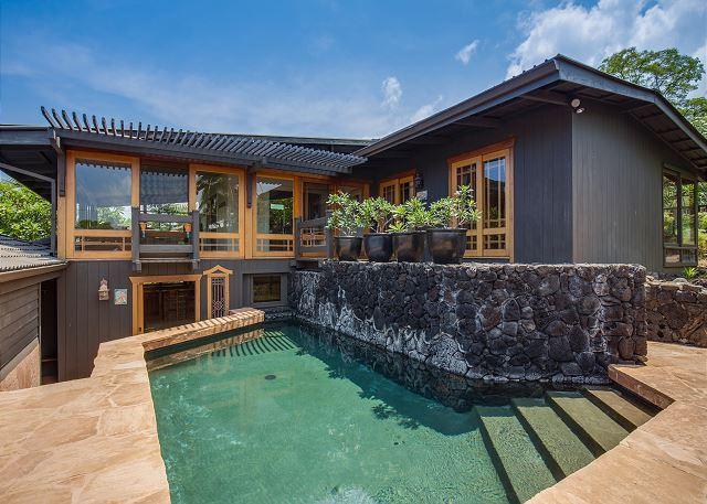 Amazing Architecturally Designed 4 Bed, 3.5 bath Estate In Kahalu'u Bay-PHKoihal - Image 1 - Kona Coast - rentals