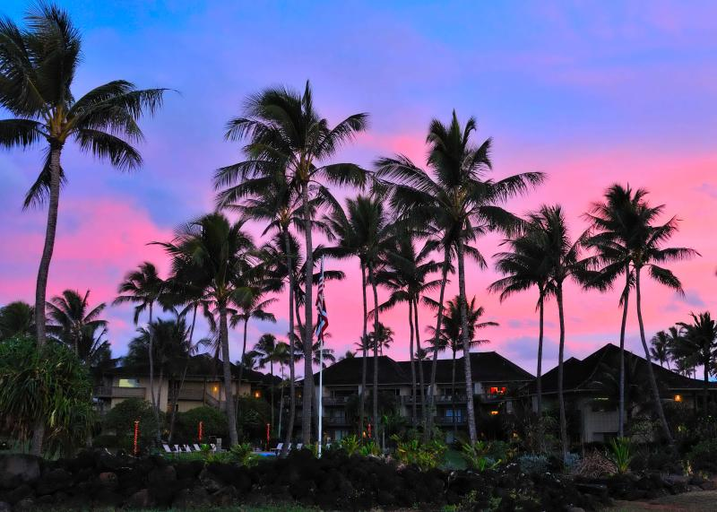 sunrise at the condos - JULY-AUG SPECIAL!  Closest to beach, ground floor - Kapaa - rentals