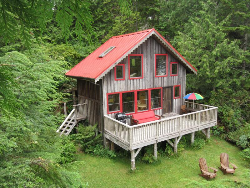 Ocean Dream is a Waterfront 1 bedroom cottage - Image 1 - Tofino - rentals