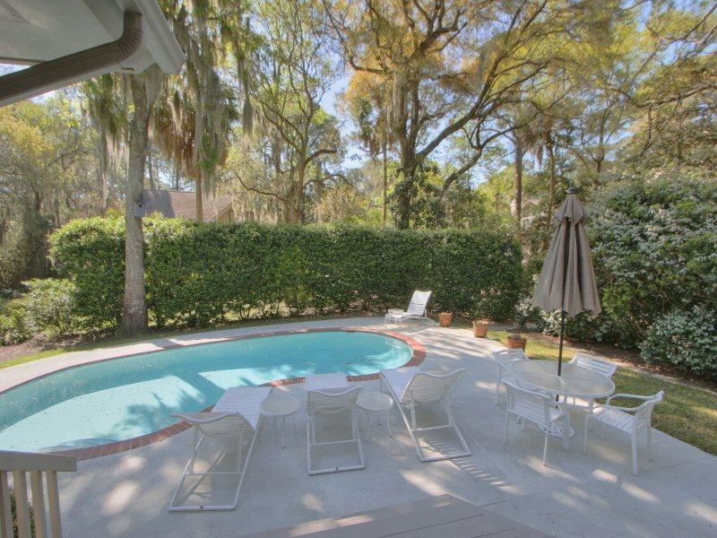 Pool and Deck at 6 Wood Ibis - 6 Wood Ibis - Sea Pines - rentals