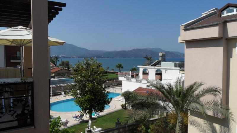 Calis Beach Apartment With Breathtaking Sea Views - Image 1 - Fethiye - rentals