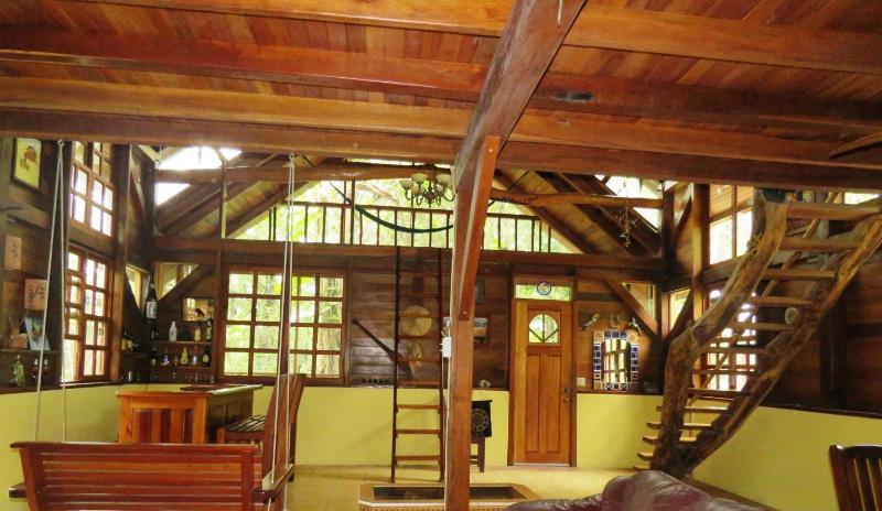 Main sitting area, bar, & dinning - Beyond Paradise Belize Vacation Rental - Beyond Paradise Vacation Rental - San Ignacio - rentals