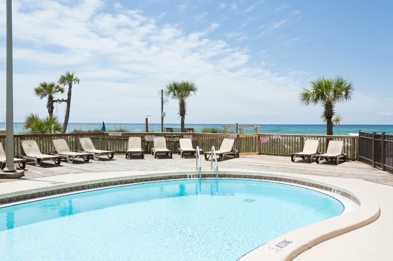 The East Pool - Sunbird - OCEAN FRONT MASTER BEDROOM 8th Floor - Panama City Beach - rentals