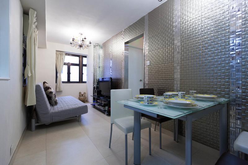 Living Room - Rental Close to Convention Center in Wan Chai, Hong Kong - Hong Kong - rentals