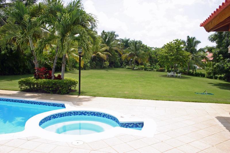 Backyard - Villa at Casa de Campo, Dominican Republic - La Romana - rentals
