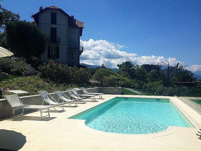 Villa Perla for rent in Laveno, Lake Maggiore Italy - Chic villa with pool overlooking the lake - Laveno-Mombello - rentals