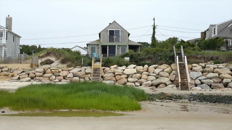 Back of Home shows just how close you are to the sand. - HANBRE 77726 - Brewster - rentals