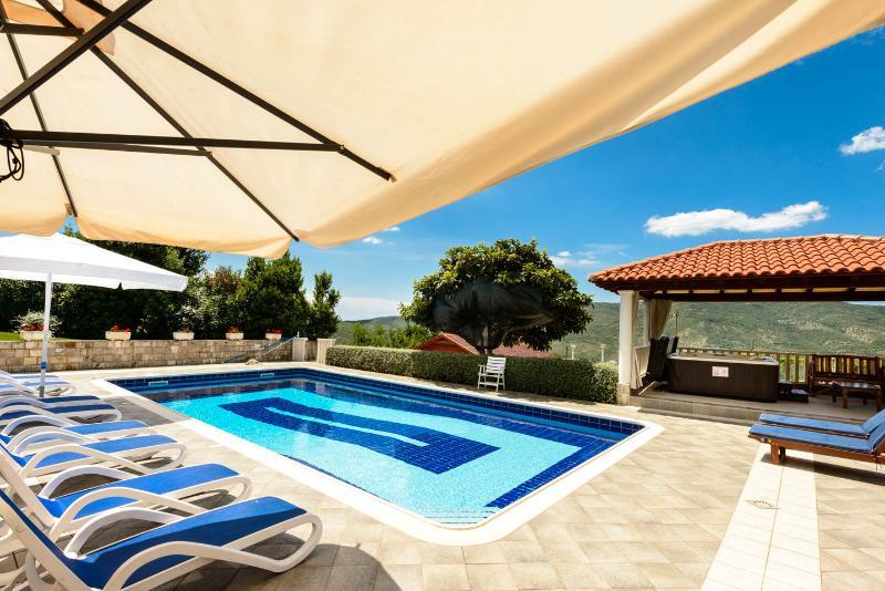 Pool area - Villa Izvor - Luxury Dubrovnik Hillside Villa with - Dubrovnik - rentals