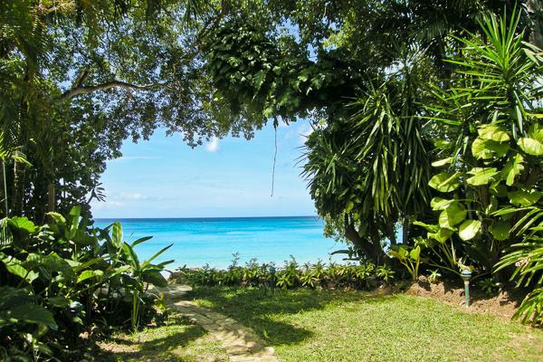 Direct beach access- spectacular sunset views. BS WAV - Image 1 - Barbados - rentals