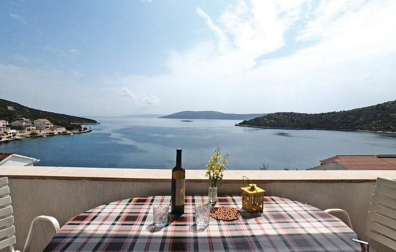 A2(2+2): terrace view - 01207VINI A2(2+2) - Vinisce - Vinisce - rentals
