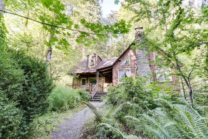 Stove & Stream Cabin - Image 1 - Rhododendron - rentals