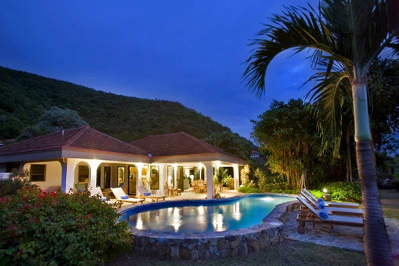 Villa On The Beach, Sleeps 10 - Image 1 - Mahoe Bay - rentals