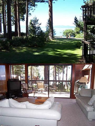 See All the Action from Brockway Shores Condo ~ RA884 - Image 1 - Kings Beach - rentals