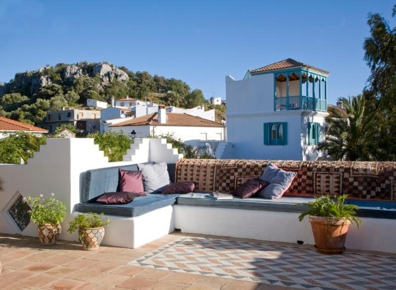 View of Casita Mosaica tower. - Casa Mosaica; Magical property with lovely pool. - Gaucin - rentals