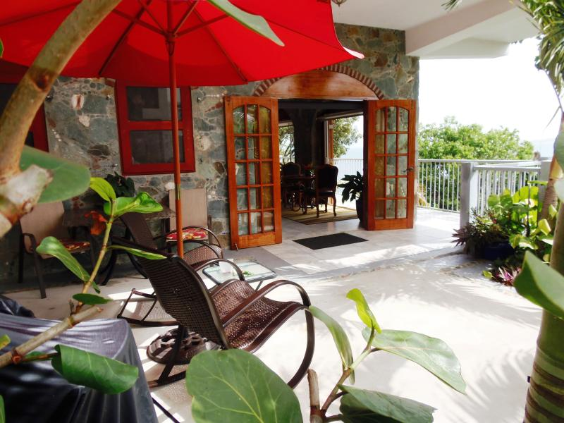 Affordable Luxury, Please Come In ... - Special Summer Rates-Bluebitch, Luxury, Beachfront - Cruz Bay - rentals