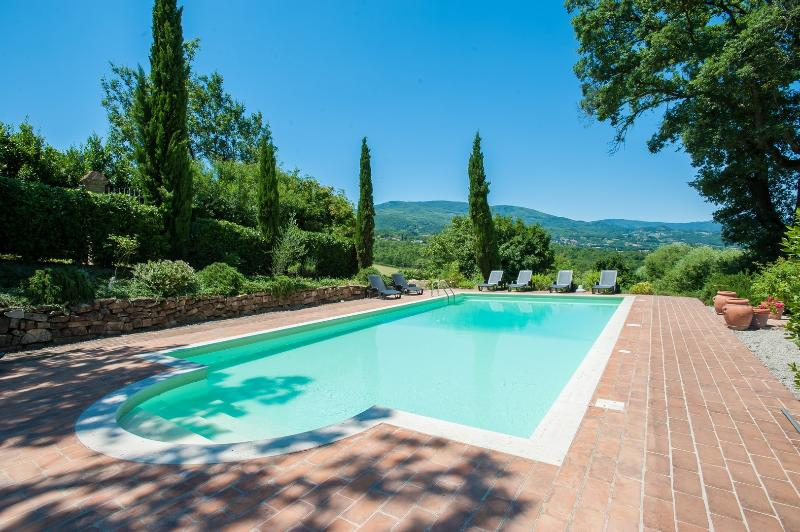 5 bedroom villa private pool and stunning view - Image 1 - Caprese Michelangelo - rentals