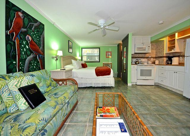 """FOR WHOM THE BELL TOLLS"" - Papas Hideaway's Deluxe Studio 3, Shared Pool - Image 1 - Key West - rentals"