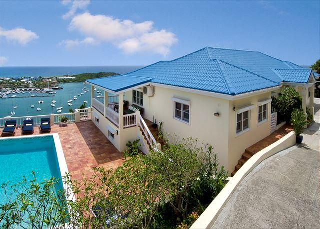 Overlooking captivating Oyster Pond and Dawn Beach - Image 1 - Saint Martin-Sint Maarten - rentals