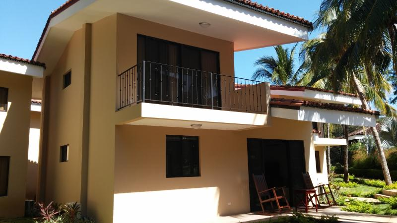 Front of our 4BR / 3 BA villa - Just a few steps from the beach in Playa Ocotal - Playas del Coco - rentals