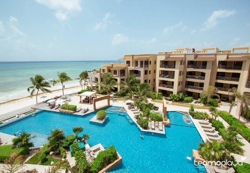 C401 - Full Beachfront Penthouse Right in Downtown - Image 1 - Playa del Carmen - rentals