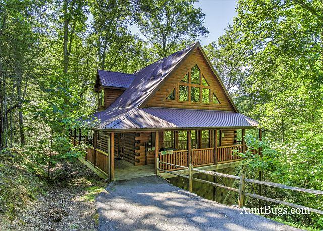 Luxury 2bedroom Resort cabin 5 miles from downtown Gatlinburg & Pigeon Forge - Image 1 - Sevierville - rentals