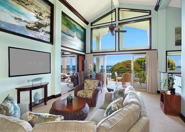 H201 He'e Nalu Surf PRESIDENTIAL Penthouse WOW - Image 1 - Kapaa - rentals