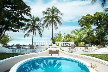 Beachfront Royal Villa- pool- jetted tub, tropical grounds & resort access - Image 1 - Tambor - rentals