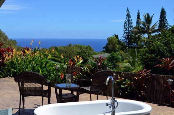 Whispering Bamboo cottage ocean views, pool, WIFI - Image 1 - Haiku - rentals