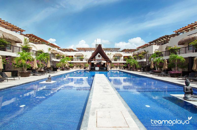 Aldea Thai, Penthouse 329 - Rooftop & Private Pool on Mamitas Beach! - Playa del Carmen - rentals