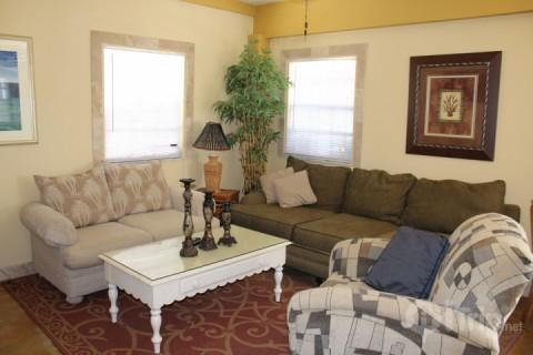 Living Room - The Tarpon Beach Bungalow - Fort Myers Beach - rentals