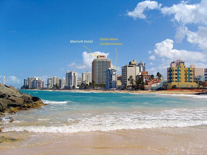 Oceanfront Condo next to Marriott Hotel Condado - Image 1 - San Juan - rentals