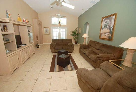 5 Bedroom Luxury Pool & Spa Home Just 8 miles To Disney. 2589OL - Image 1 - Orlando - rentals
