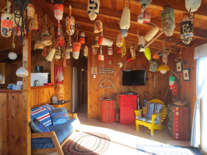 Living Room - The Buoy - Savage Harbour - rentals