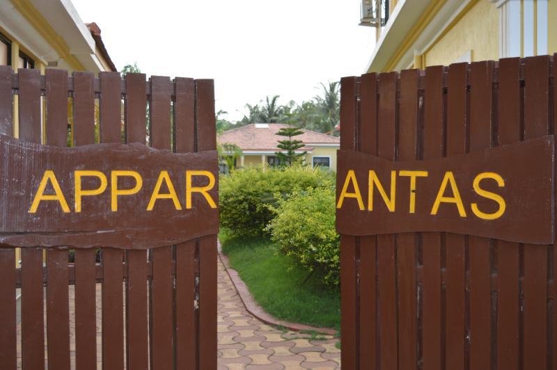 Entrance to Apparantas - Goa Casitas Serviced Villa Apparantas in North Goa - Goa - rentals