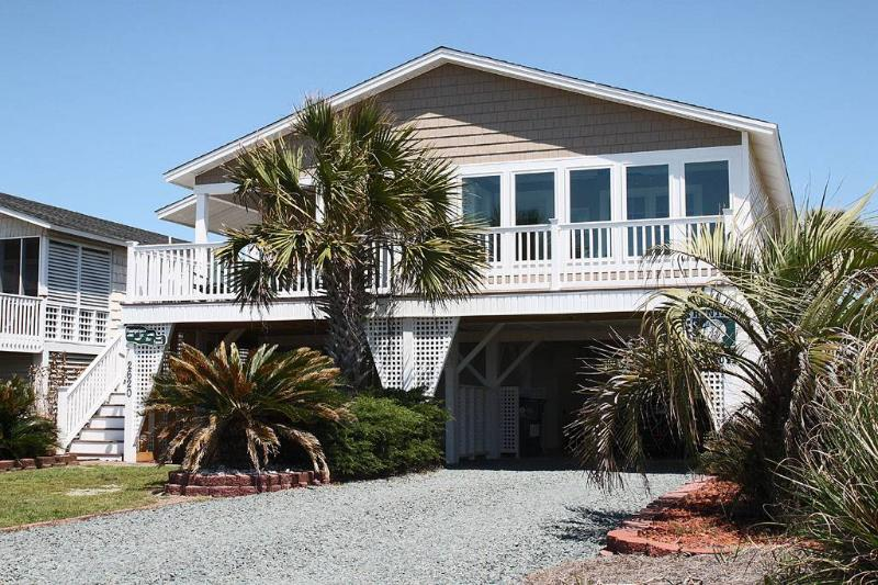 Footprints In The Sand 2620 East Beach Drive - Image 1 - Oak Island - rentals