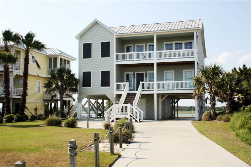 Marsh Madness 5724 West Beach Dr. - Image 1 - Oak Island - rentals