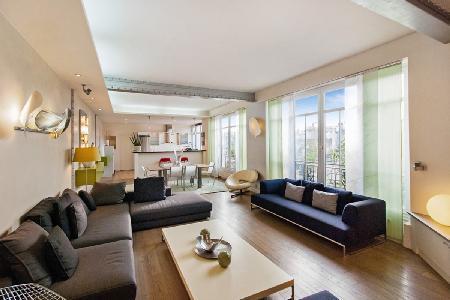 Modern Vacation Apartment at Le Haut Marais - Image 1 - 3rd Arrondissement Temple - rentals
