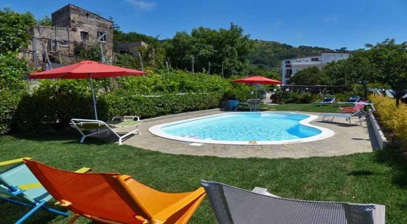 Julietta pool area - JULIETTA - Torca - Sant'Agata - Sorrento area - Massa Lubrense - rentals