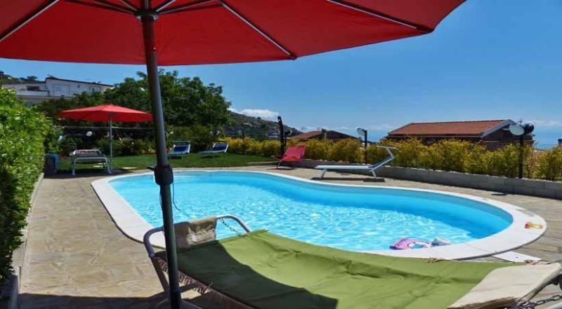 La Contessa pool area - LA CONTESSA, Torca, Massa Lubrense, Sorrento area - Massa Lubrense - rentals