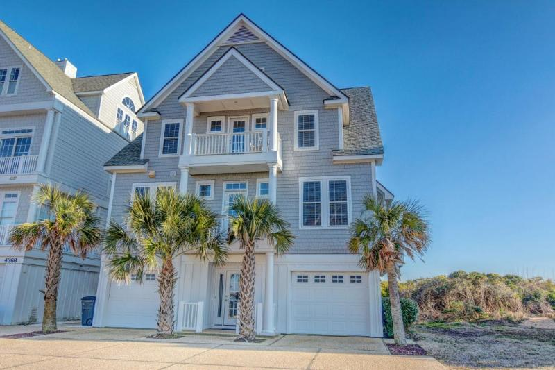 Magnificent Ocean Front Home - 6BR Beachfront Home w/ Hottub wk of 8/29 $2795 - North Topsail Beach - rentals