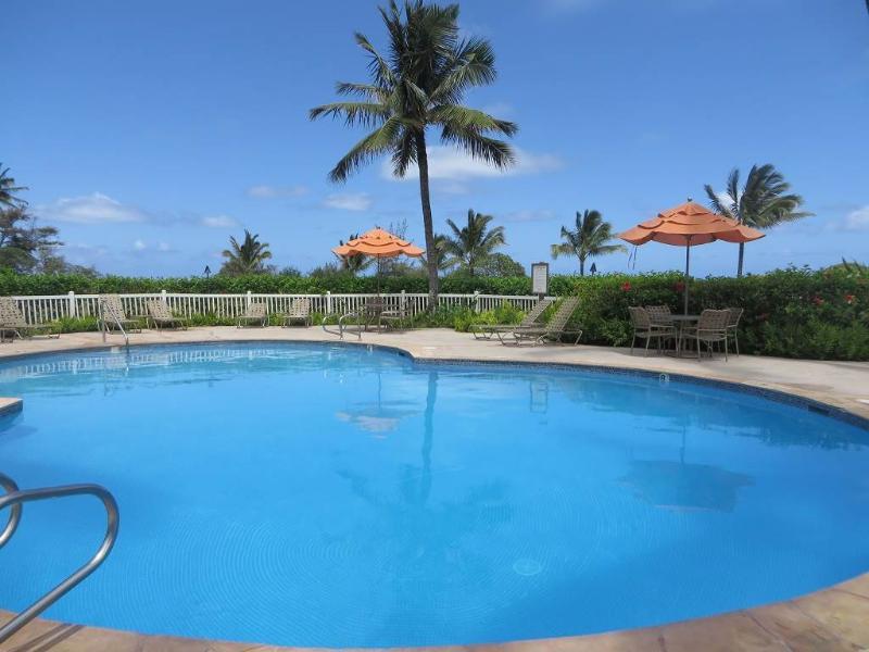 Kaha Lani Resort #224-OCEANFRONT 2 BR, end unit - Image 1 - Lihue - rentals