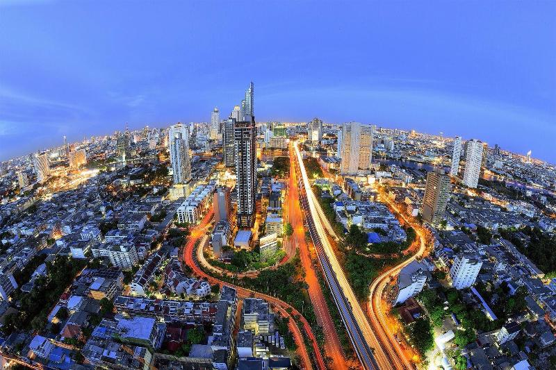 One of the best view in Bangkok from my Apartment - New 1 BR next to BTS, Free WiFi, 29th Flr, 56 Sq.M - Bangkok - rentals