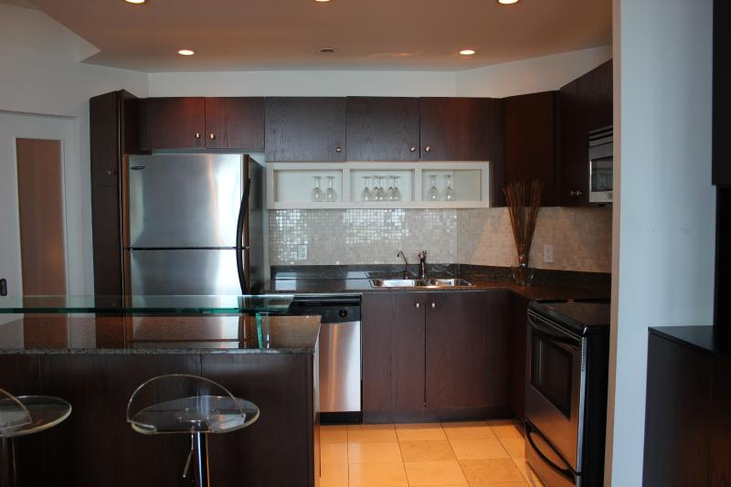 full kitchen with stainless steel appliances - ~ Adults Only Harbourfront Luxury Condo w/Pool! ~ - Toronto - rentals
